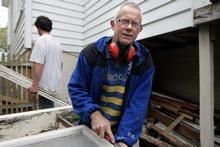 Builder Sandy Pyne has seen some shoddy work. Photo / Herald on Sunday