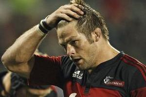 Richie McCaw and his team will have to dig deep this Saturday when they face the Bulls in Pretoria. Photo / Getty Images