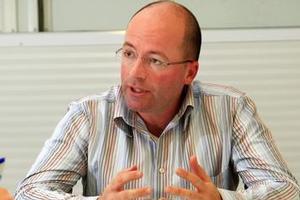 Icehouse chief executive Andrew Hamilton. Photo / Martin Sykes