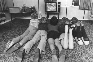 Kids with early exposure to television do poorly at maths and are obese, a study has found. Photo / NZ Herald