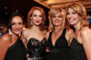 Left to right: Joanna Paul, Samantha Hayes, Leanne Malcolm, and Carolyn Robinson. Photo / Norrie Montgomery