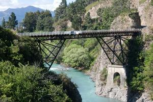 Thrillseekers operates from the Waiau River bridge near Hanmer Springs in north Canterbury. Photo / Supplied