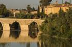 The old Roman bridge over the Guadalquivir River in Cordoba. Photo / Liz Light