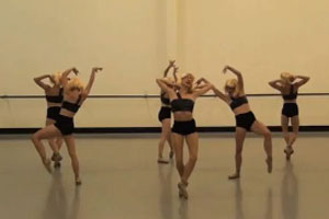 Members of the Royal New Zealand Ballet perform Lady Gaga - The Ballet.