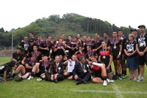 Hamilton Boys High School First XV after their win at the world schools tournament. Photo / Supplied