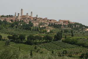 San Gimignano is a beautiful medieval walled town. Photo / Jim Eagles
