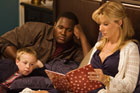 Sandra Bullock manages to overcome the cliche her character could have been in <i>The Blind Side</i>. Photo / Supplied