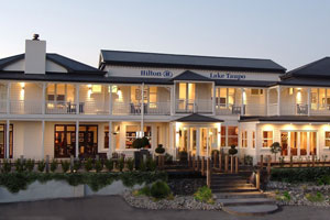 The Hilton Lake Taupo. Photo / Supplied
