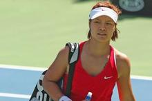 Second seed Li Na was beaten in straight sets by Estonia's Kaia Kanepi 6-1 6-3. Photo / Getty Images