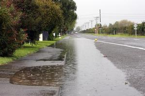 There's no sign of the weather stabilising, with rain warnings issued for the South Island. Photo / Hawkes Bay Today