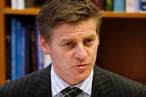Bill English says New Zealand has come through the downturn in better shape than most other countries. Photo / Mark Mitchell