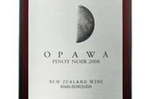 Opawa Pinot Noir 2008. Photo / Supplied
