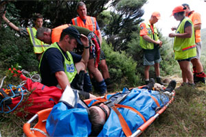Search and rescue teams were called out to 245 incidents involving tourists last year. Photo / Northern Advocate