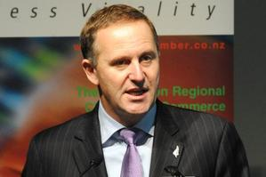 John Key says science will get the biggest boost after health and education in next week's Budget. Photo / NZPA
