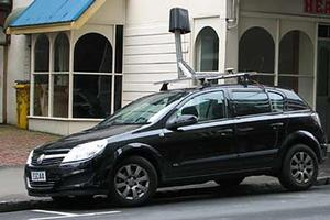 Street View car in Wellington. Photo / Supplied