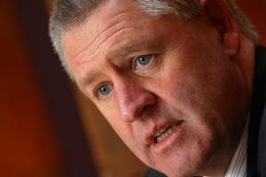 NZRU chief executive Steve Tew (pictured) issued the statement with acting chairman Mike Eagle. Photo / Paul Estcourt