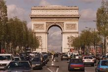 The Arc De Triomphe, Paris. Photo / Russell Smith