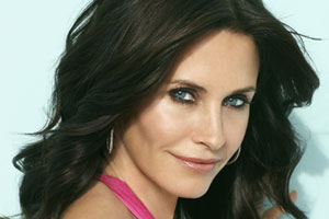 Courteney Cox stars in Cougar Town. Photo / Supplied