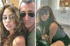 Teen idol Miley Cyrus (pictured with Adam Shankman) in yet another scandal. Photo / Supplied