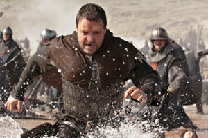 Russell Crowe stars in Robin Hood. Photo / Supplied