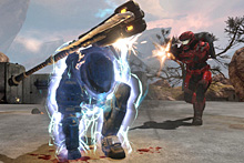 <i>Halo: Reach</i> features new abilities, including armour lock. Photo / Supplied