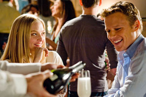 Amanda Seyfried puts in a passable performance but Chris Egan doesn't fare so well. Photo / Supplied
