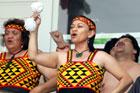 Members of the Patea Maori Club perform Poi E. File photo / Wanganui Chronicle