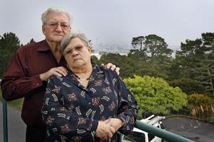 Thomas and Ann Cawood of Birkenhead have lost everything after a bad Blue Chip investment. Photo / Sarah Ivey