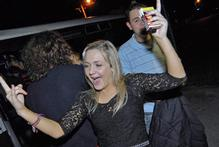 Party-goers were ready for fun at this week's Pakuranga College after-ball ... but it was alcohol-free after a van-load of liquor was removed following police and Licensing Agency intervention. Photo / Herald on Sunday
