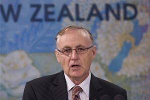 Reserve Bank Governor Alan Bollard. Photo Mark Mitchell