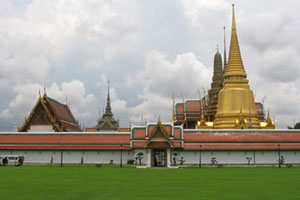 The Temple of the Emerald Complex in Bangkok's Grand Palace grounds. Photo / Jill Worrall