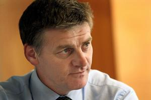 Bill English. Photo / Marty Melville