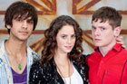 Skins' young cast. Photo / Supplied