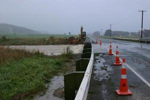 The Springbank culvert on SH1 in Otago, 15km south of Timaru. Photo / Nicola Tennent