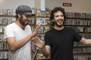 Jemaine Clement and Bret McKenzie. Photo / Mark Mitchell