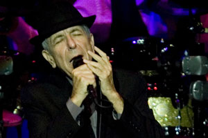 Leonard Cohen will play three New Zealand dates in October and November. Photo / Dean Purcell