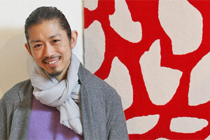 Akira Isogawa's work is inspired by a combination of his Japanese roots and his daily life in Sydney. Photo / Greg Bowker
