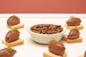 Liver parfait with a hint of chocolate. Photo / Ian Jones
