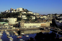 Torquay has the Agatha Christie Mile sightseeing tour. Photo / Britain on View