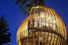 The designers of the Yellow Treehouse restaurant are confident the project can be replicated elsewhere. Photo / Supplied