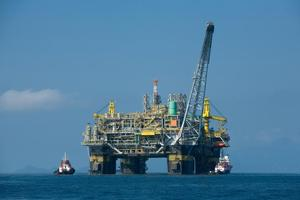 A Petrobras oil platform. Photo / Supplied