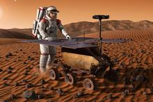 The ExoMars is scheduled to land on Mars sometime in 2018. Photo / ESA