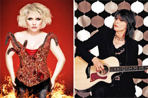 Debbie Harry joins the Pretenders to perform in New Zealand at the end of the year. Photo / Supplied