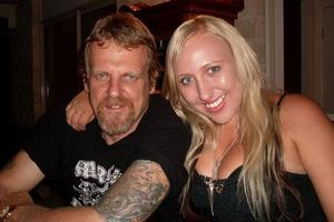Brent Dumper and his daughter Jessica. Photo / Supplied