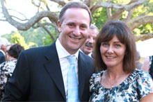 John Key and Bronagh Key. Photo / Herald on Sunday