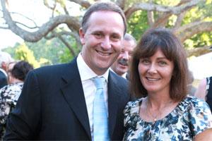 John Key and Bronagh Key. Photo / Herald on Sunday
