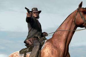 Players can decide whether John Marston will be good or evil in Red Dead Redemption.