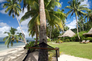 Qamea Resort and Spa is the perfect setting for a winter getaway. Photo / Supplied