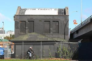 The building has fallen into disrepair. Photo / Greg Bowker