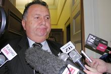 Shane Jones appears after admitting he had used his ministerial credit card to pay for porn in hotels. Photo / NZPA